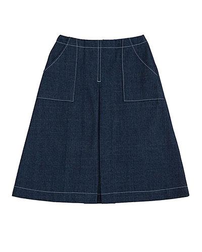 ポケットつきスカート
